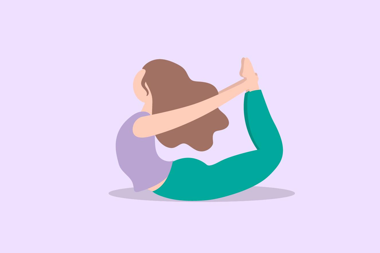 yoga postura do arco
