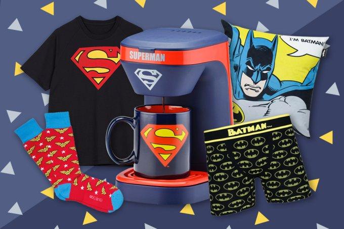 Presentes para pais que amam super-heróis