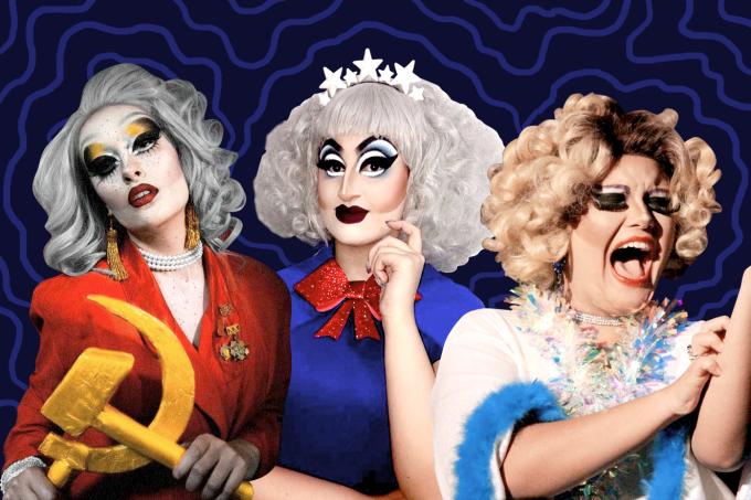 riot queens drag queens mulheres