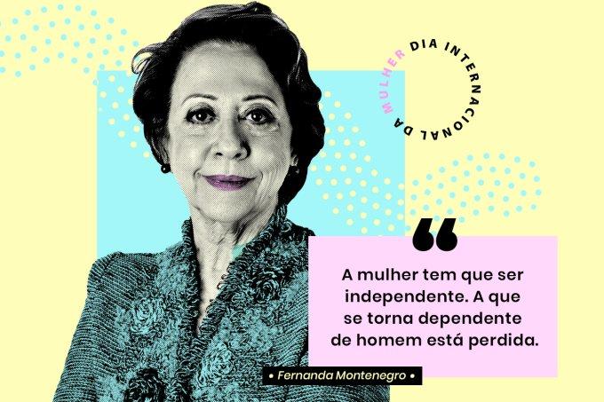 Cartão Fernanda Montenegro