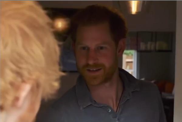 Principe Harry e Ed Sheeran