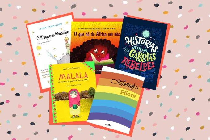 Livros para o Dias das Crianças