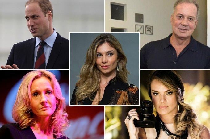 TV Globo/Divulgação, Léo Marinho/AgNews, Bradley Ormesher – Pool e Ben Pruchnie/Getty Images