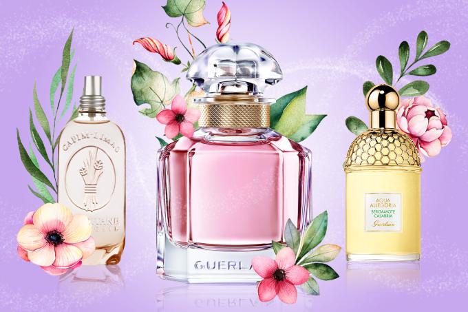 perfumes deliciosos que têm o clima fresco da primavera