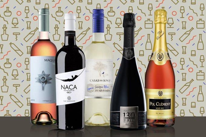 Seleção de vinhos e espumantes para as festas de fim de ano