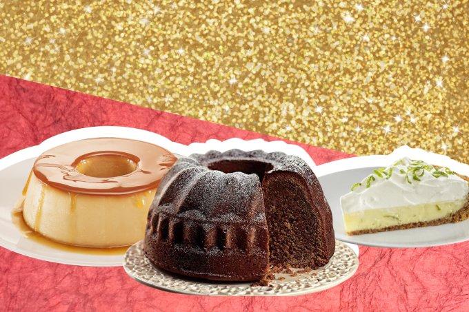 Sobremesas tradicionais de festas