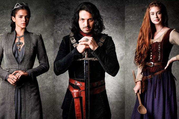 Resumo da novela Deus Salve o Rei, Catarina, Afonso e Amália