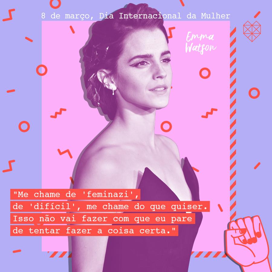 dia internacional da mulher mensagem inspiradora emma stone