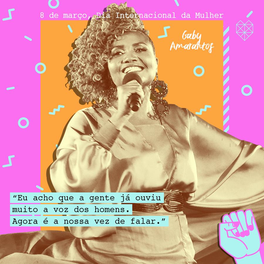dia internacional da mulher mensagem inspiradora gaby amarantos