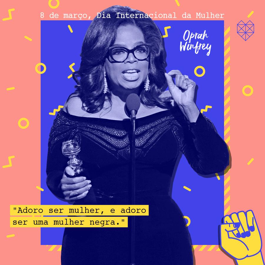 dia internacional da mulher mensagem inspiradora oprah winfrey