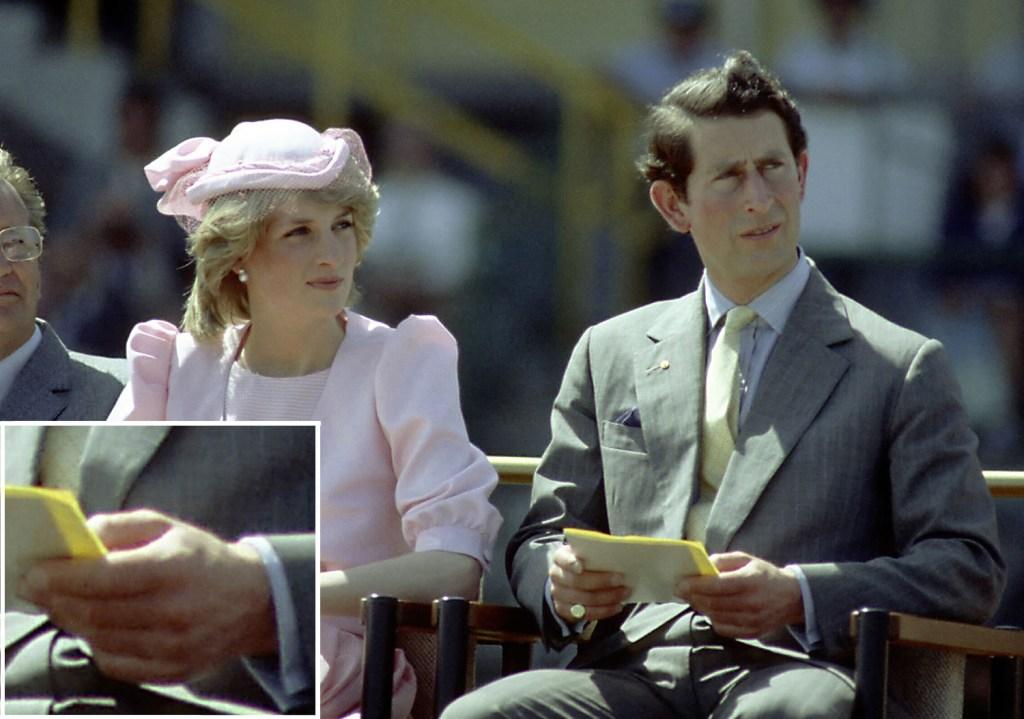 Princiesa Diana e Principe Charles Aliança
