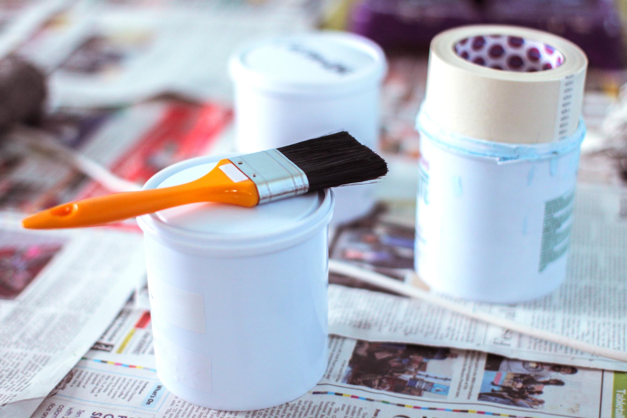 Dicas para pintar a casa sozinha