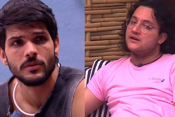 Diego decepcionado com Lucas no BBB18