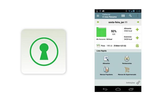 7 aplicativos grátis para pegar firme na dieta e na academia