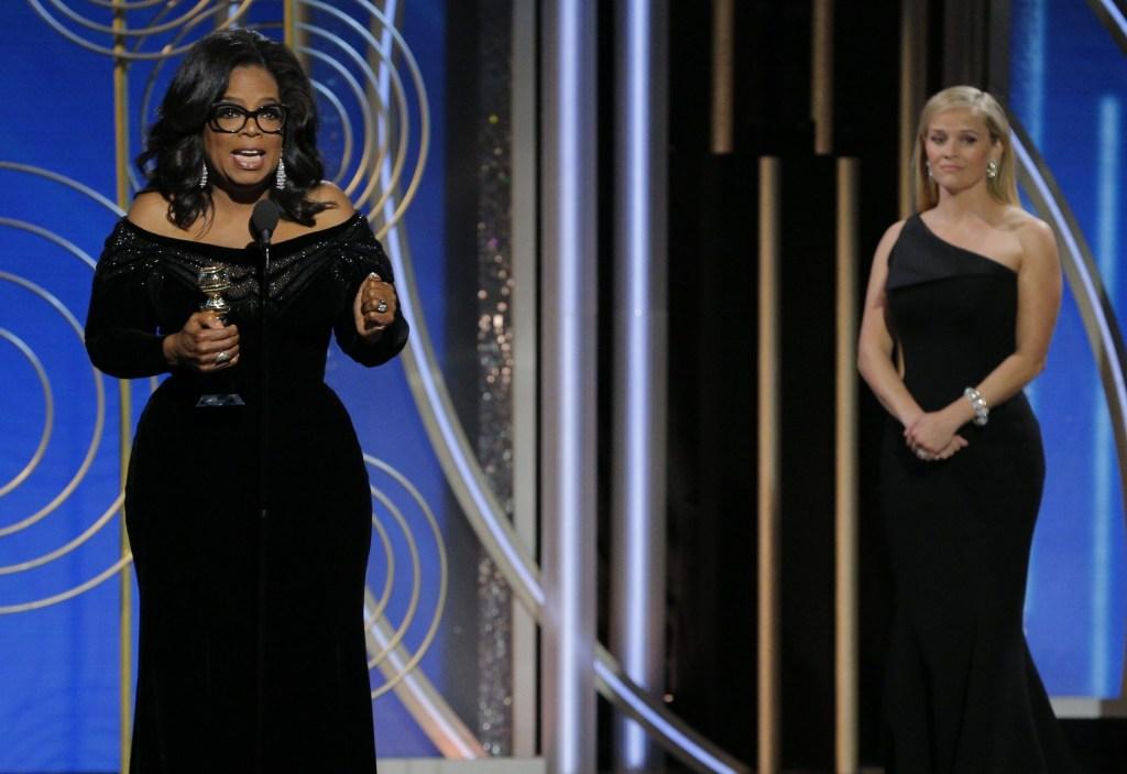discurso oprah winfrey globo de ouro na integra