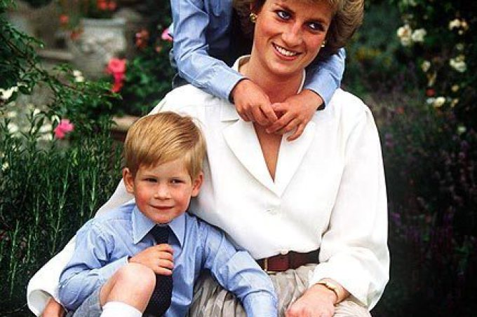 Príncipe Willian e Princesa Diana