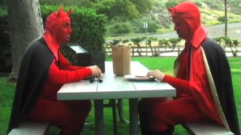 Meme dois demonios