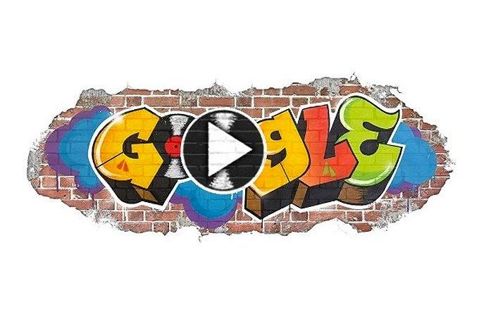 Doodle Google, nascimento do hip hop