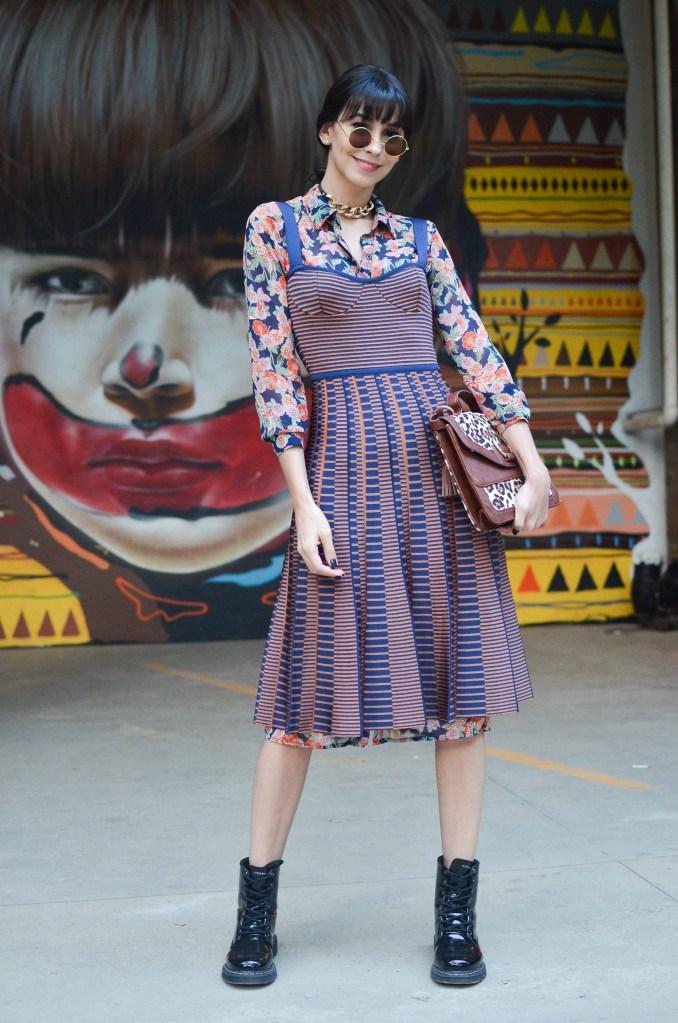 Aline Flores, 28, Blogueira e consultora de estilo