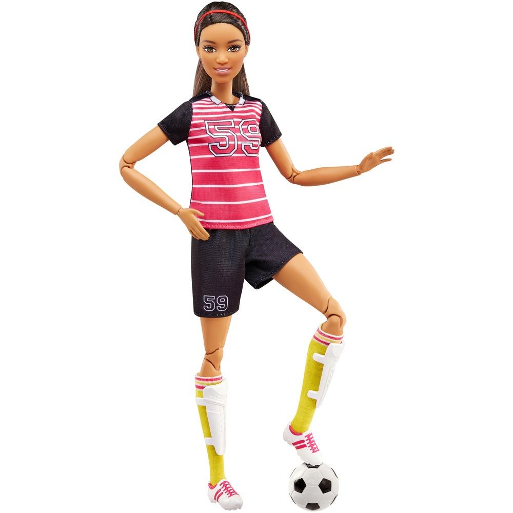 Barbie jogadora de futebol
