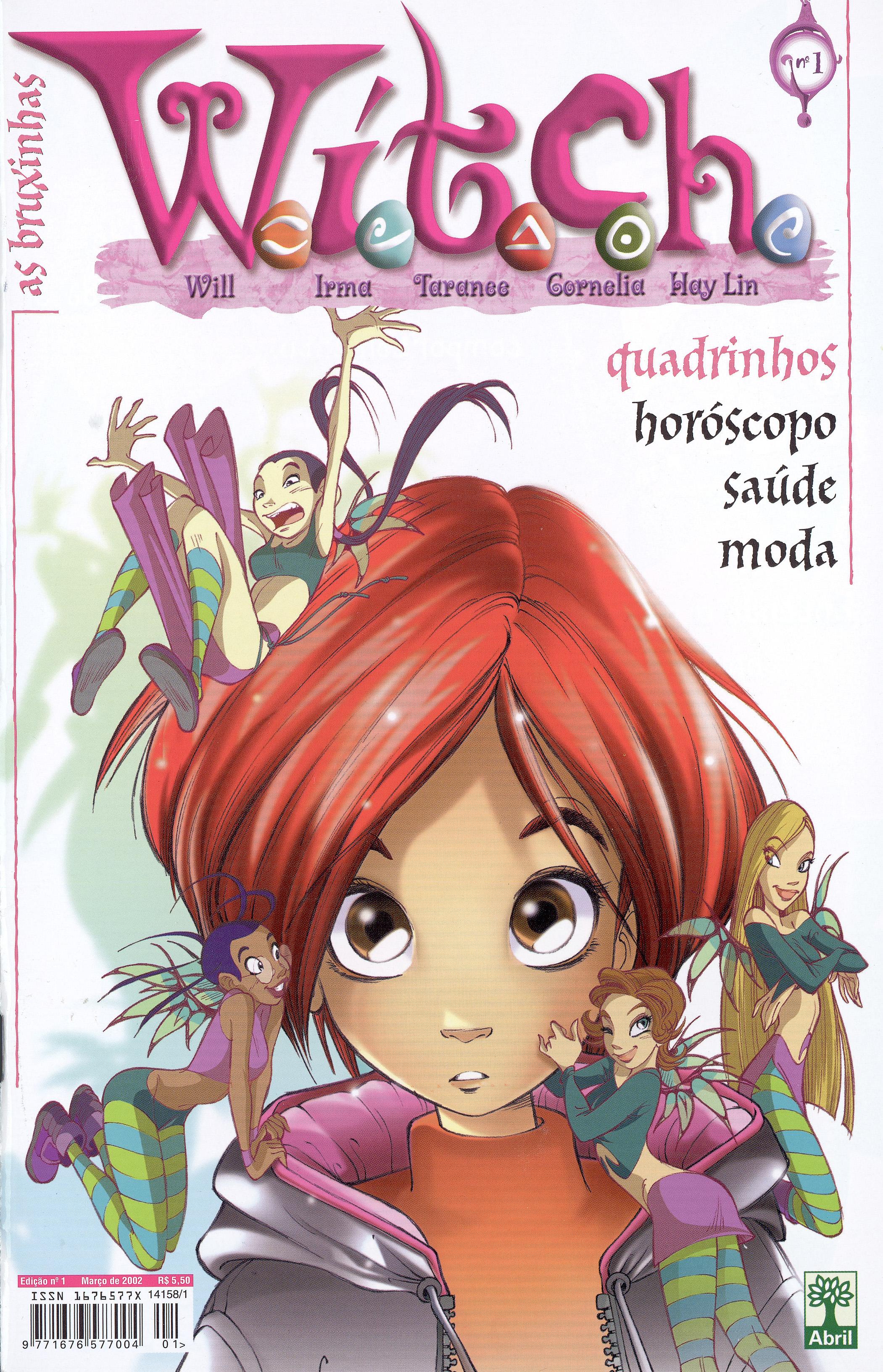 Edição 1 da revista W.i.t.c.h., de março de 2002