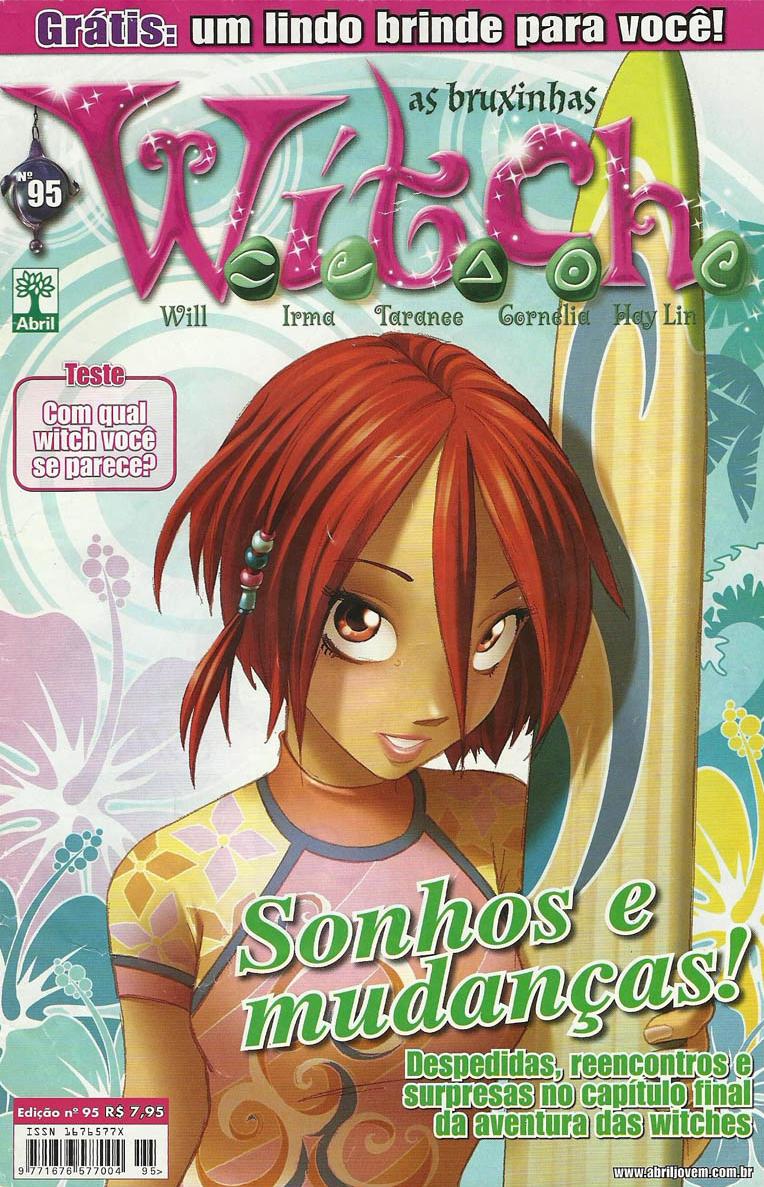 Edição 95 da revista W.i.t.c.h., de dezembro de 2009