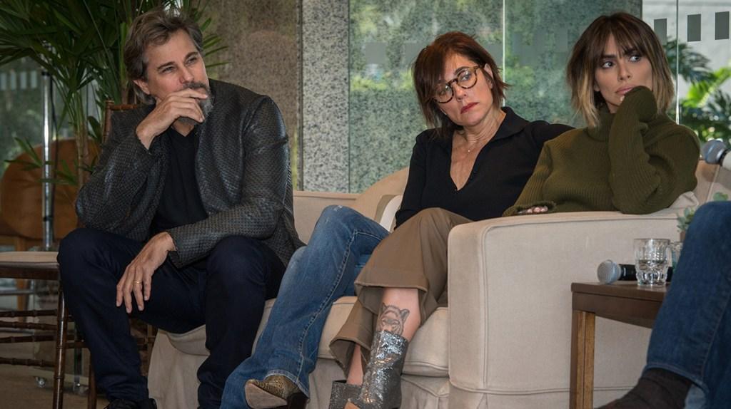 Edson Celulari, Christiane Torloni e Cleo Pires