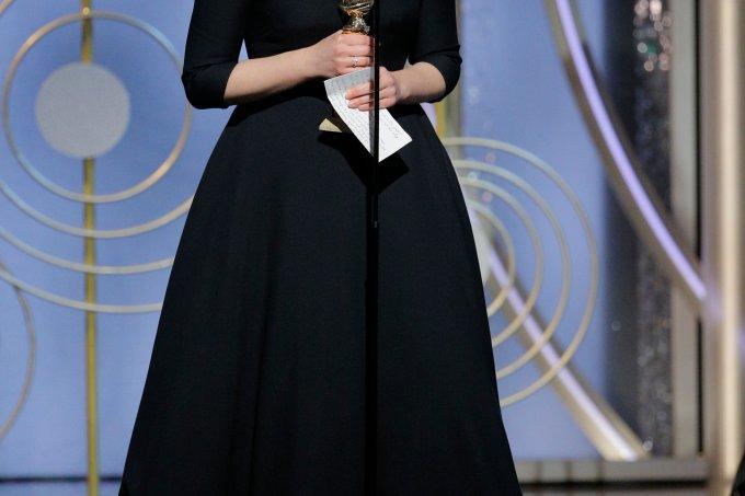 Elisabeth Moss vencedora Globo de Ouro