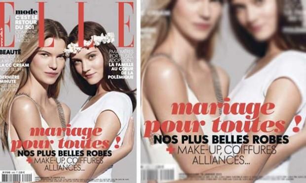Casamento e alta-costura da Chanel para todos - até lésbicas