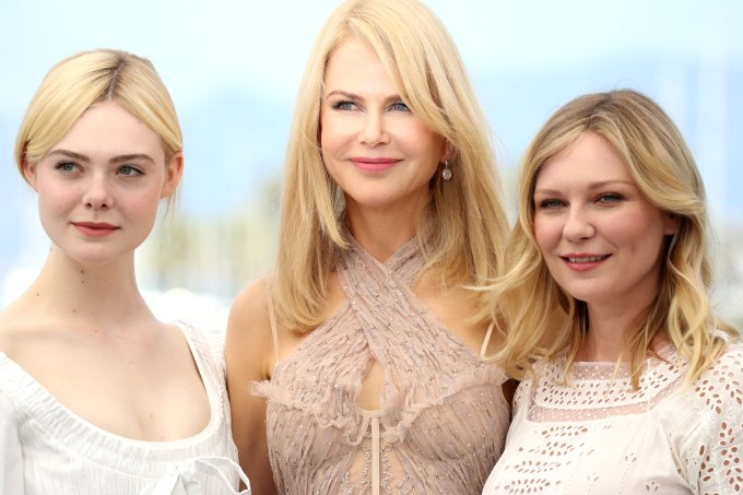 Elle Fanning, Nicole Kidman e Kirsten Dunst