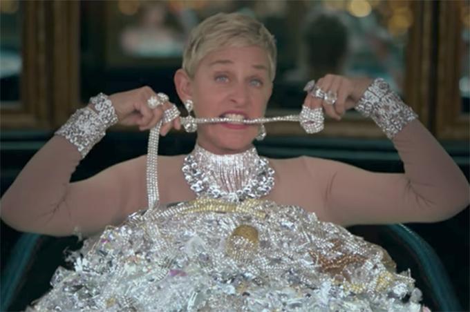 Ellen DeGeneres paródia Taylor Swift