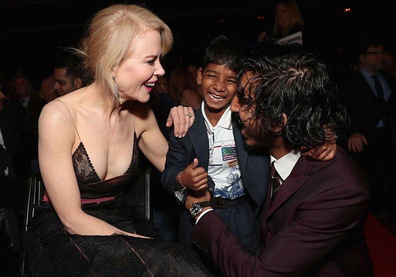 Nicole Kidman, Sunny Pawar e Dev Patel