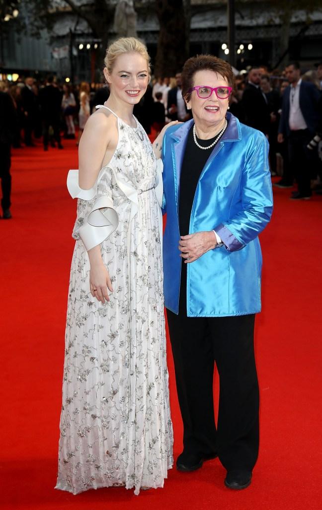 Emma Stone e Billie Jean King