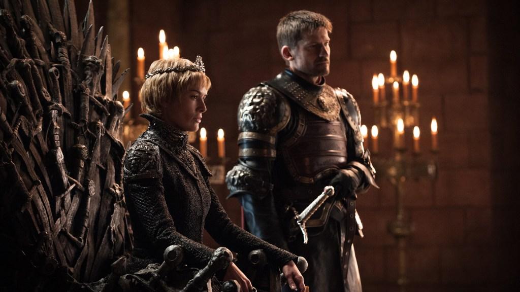 Cersei e Jaime Lannister em Game of Thrones