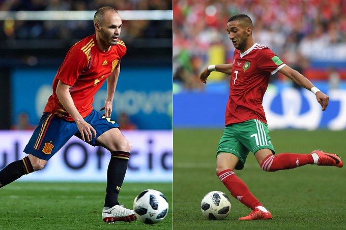 espanha x marrocos copa do mundo 2018
