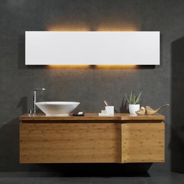 Espelho para banheiro 120 x 30