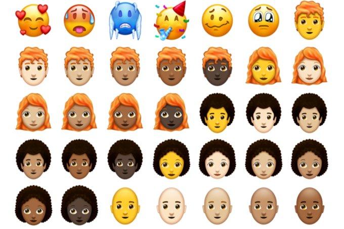 Emojipedia divulga catálogo com os novos emojis de 2018