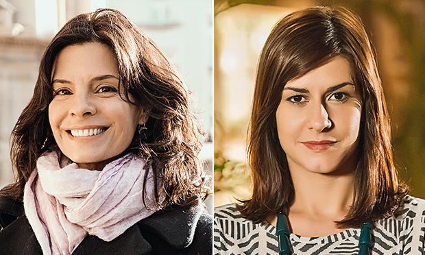 Franjas: os cortes das atrizes de Em Família