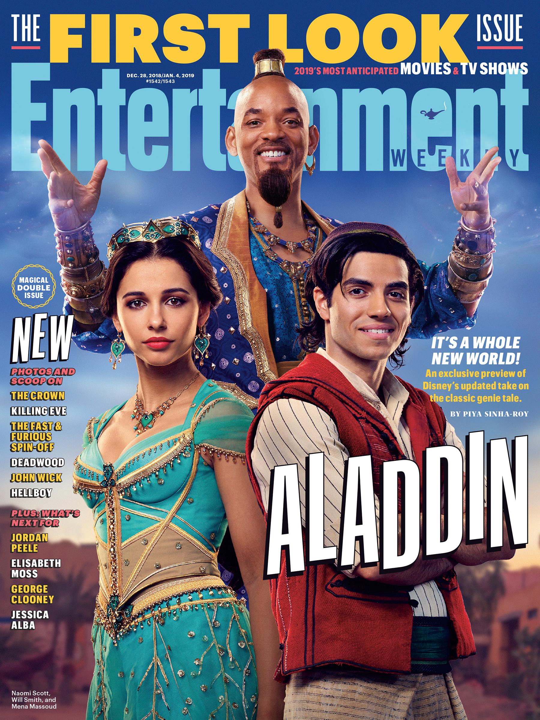 Capa da EW - Aladdin