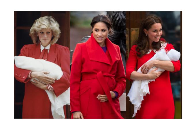 Diana, Meghan Markle e Kate Middleton