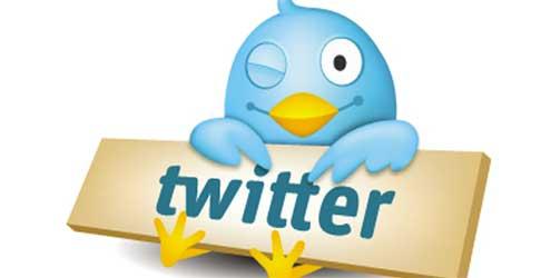 O twitter dos famosos