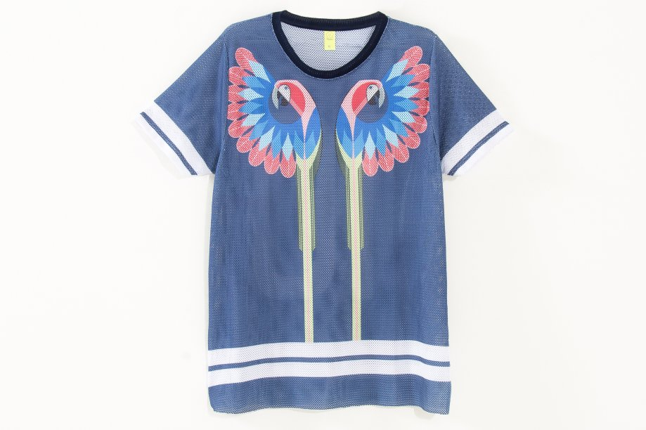T-shirt telinha Arara, R$ 229,00
