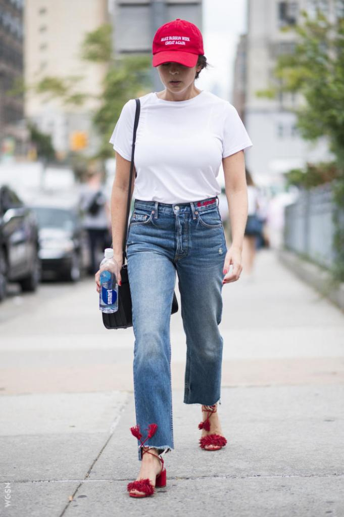 Jeans e camiseta street style