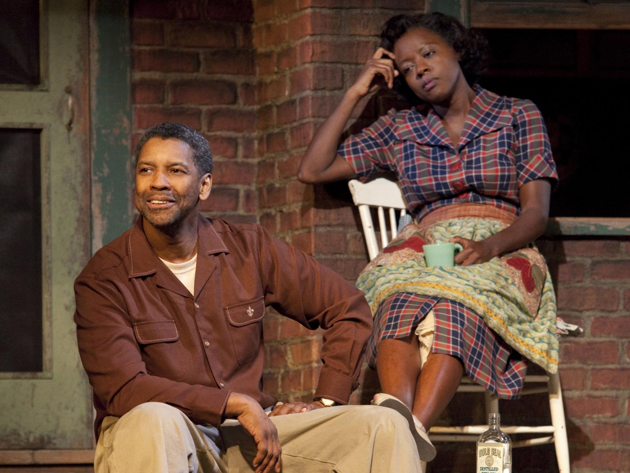 Denzel Washington e Viola Davis
