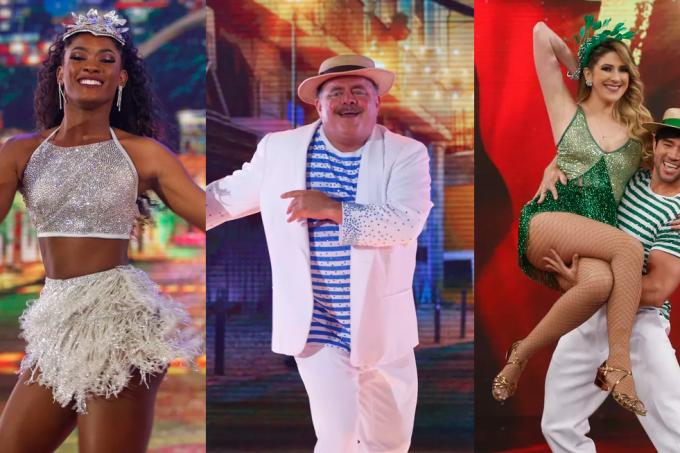 Finalistas do Dança dos Famosos 2018