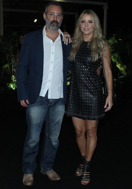 Floriano Peixoto e Christine Fernandes