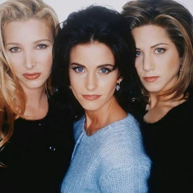 Friends - Phoebe Monica e Rachel