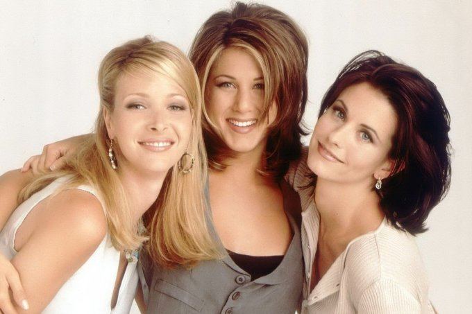 Friends – Phoebe Rachel e Monica reunidas
