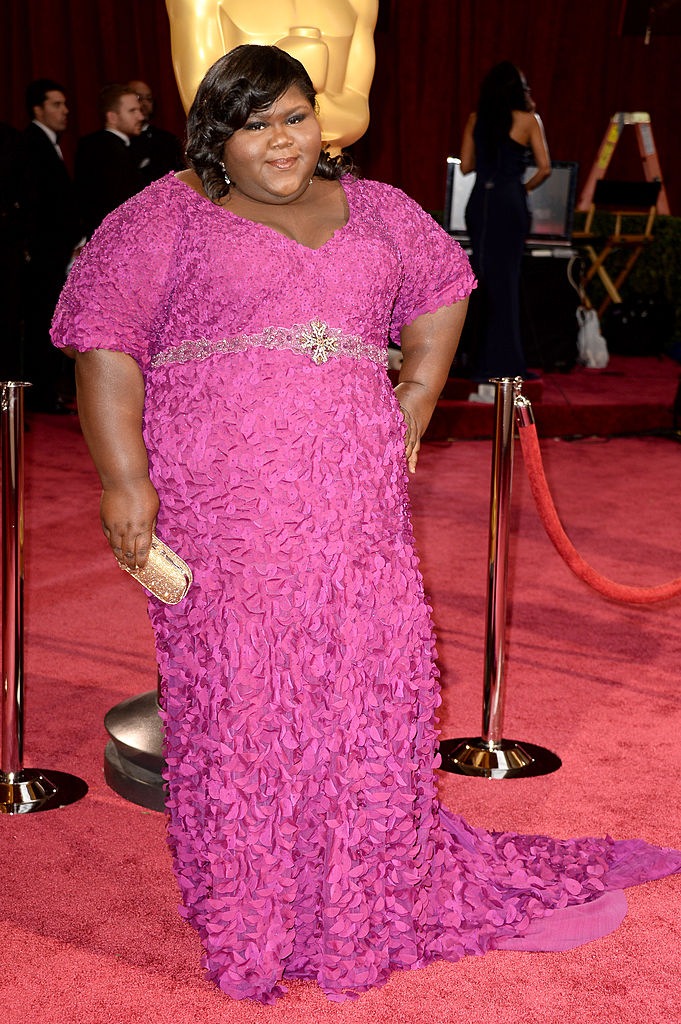 HOLLYWOOD, CA - MARCH 02: Actress Gabourey Sidibe attends the Oscars held at Hollywood & Highland Center on March 2, 2014 in Hollywood, California. (Photo by Frazer Harrison/Getty Images)