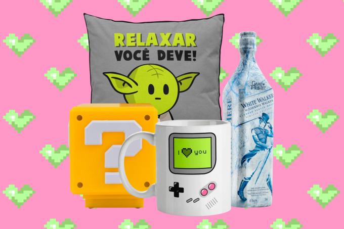 Galeria geek de presentes para o Dia dos Namorados.